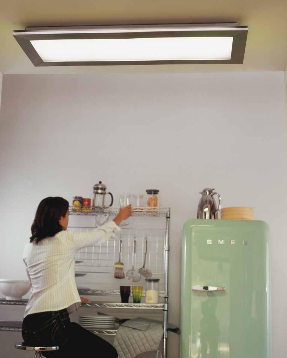 Kitchen fluorescent lighting Photo - 5