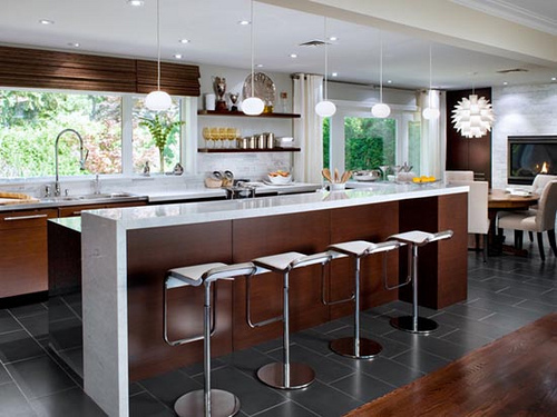 Kitchen fluorescent lighting Photo - 6