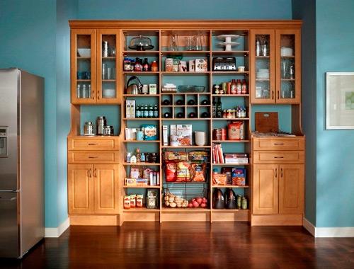 Kitchen food pantry cabinet Photo - 8