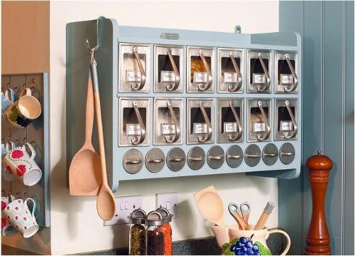 Kitchen food storage cabinets Photo - 3