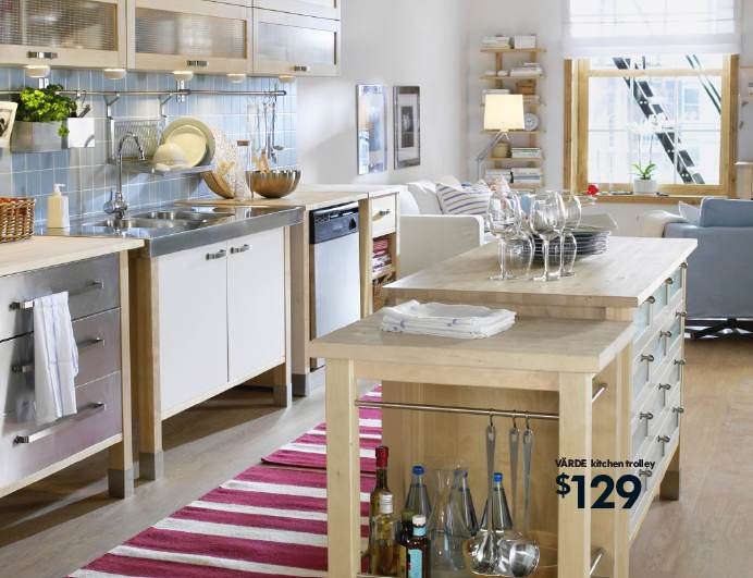 Kitchen free standing cabinets Photo - 6