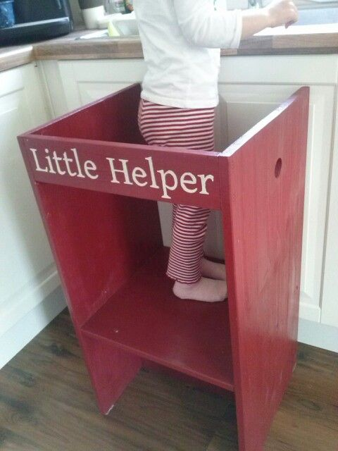 Kitchen helper step stool Photo - 8
