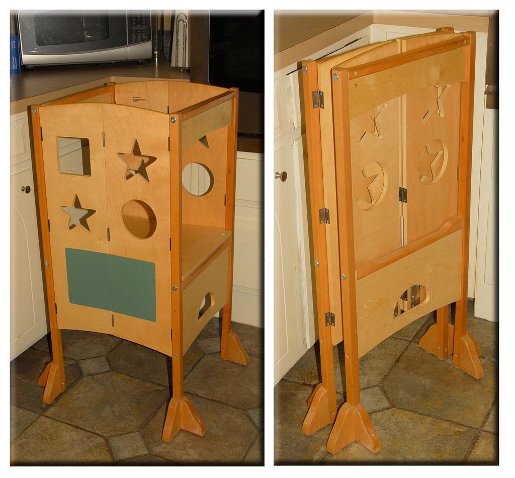 kitchen helper stool | kitchen ideas