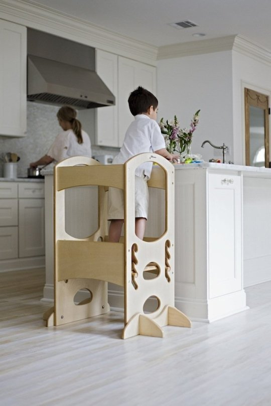 Kitchen helper stool for toddlers Photo - 8