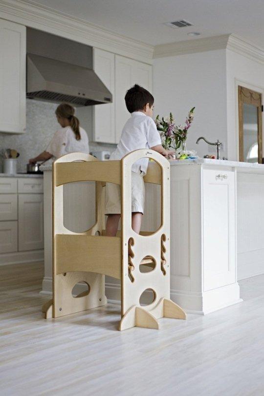 Kitchen helper stool for toddlers Kitchen ideas