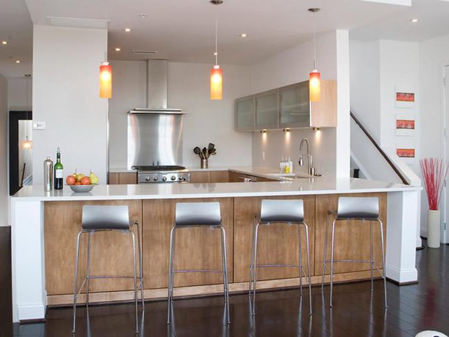 Kitchen island cabinet Photo - 9