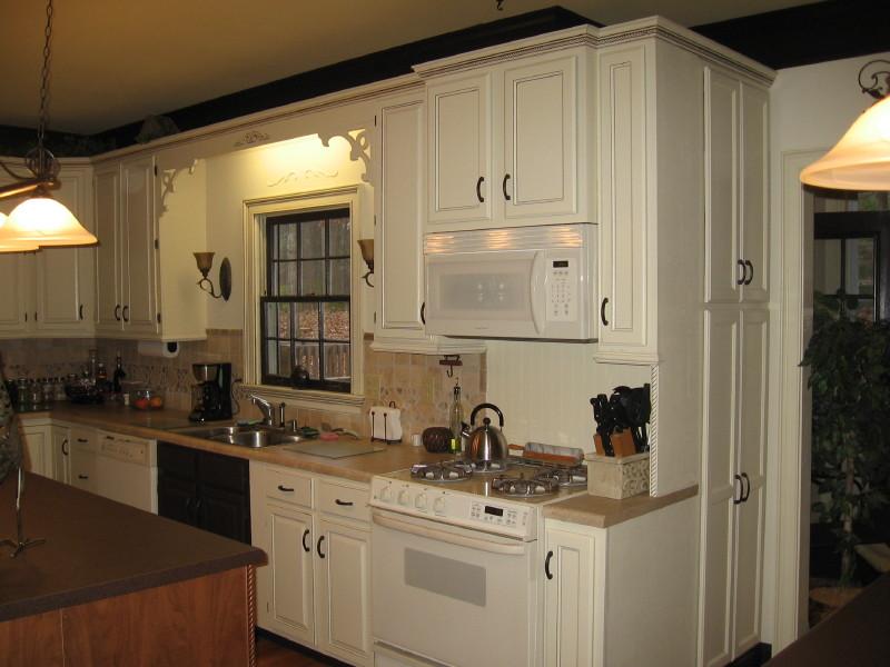 Kitchen island cabinet Photo - 8