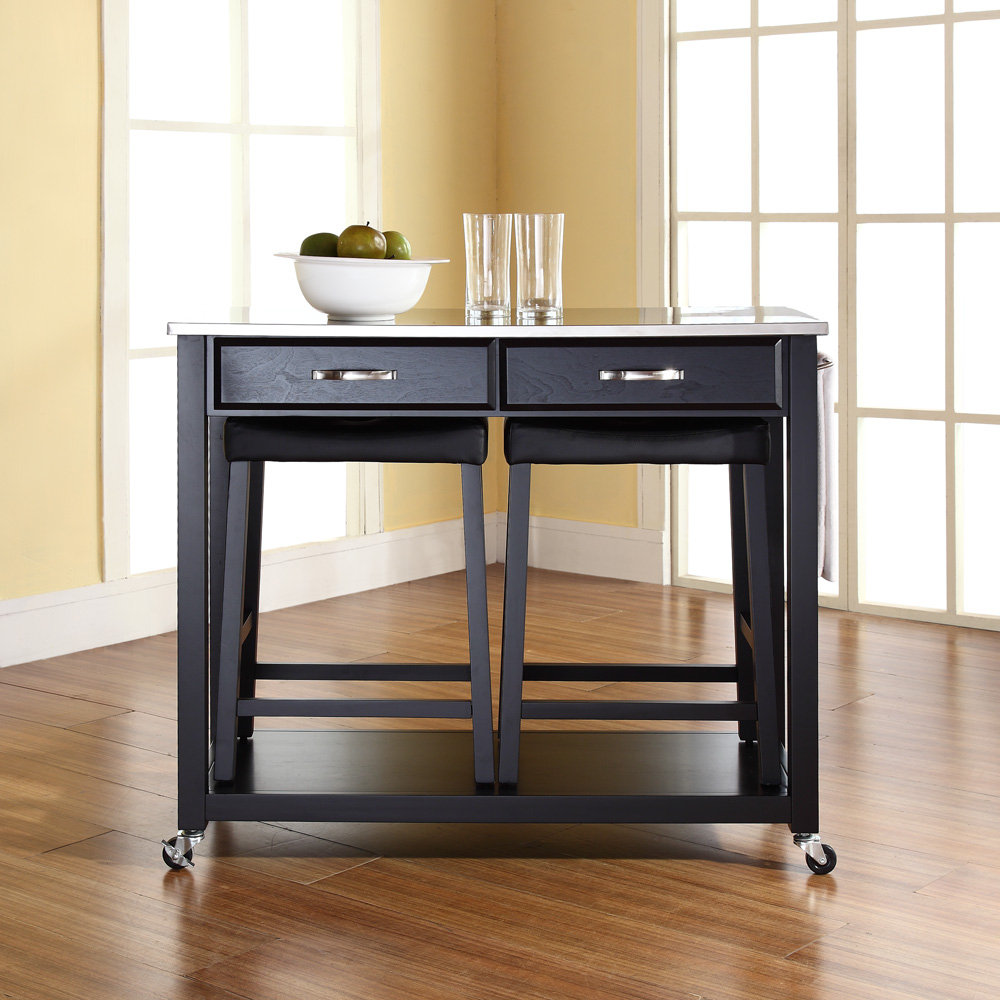 Beautiful Kitchen Island Cart With Seating For Small And Rustic In Decorating