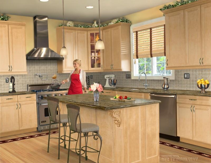Kitchen island styles Photo - 2