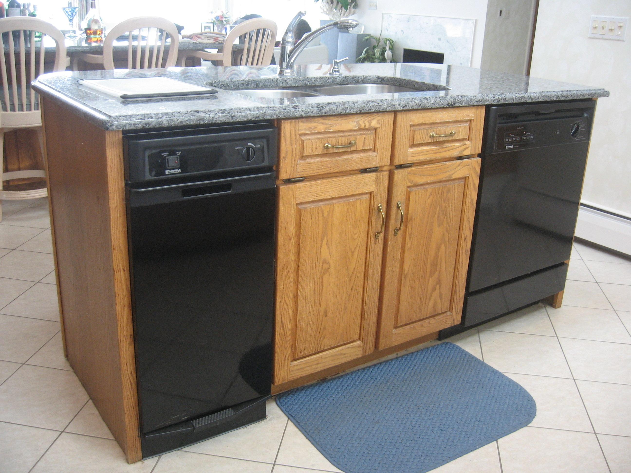 Kitchen Island Trash Bin Photo U2013 12