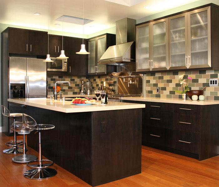Kitchen island with cabinets Photo - 10