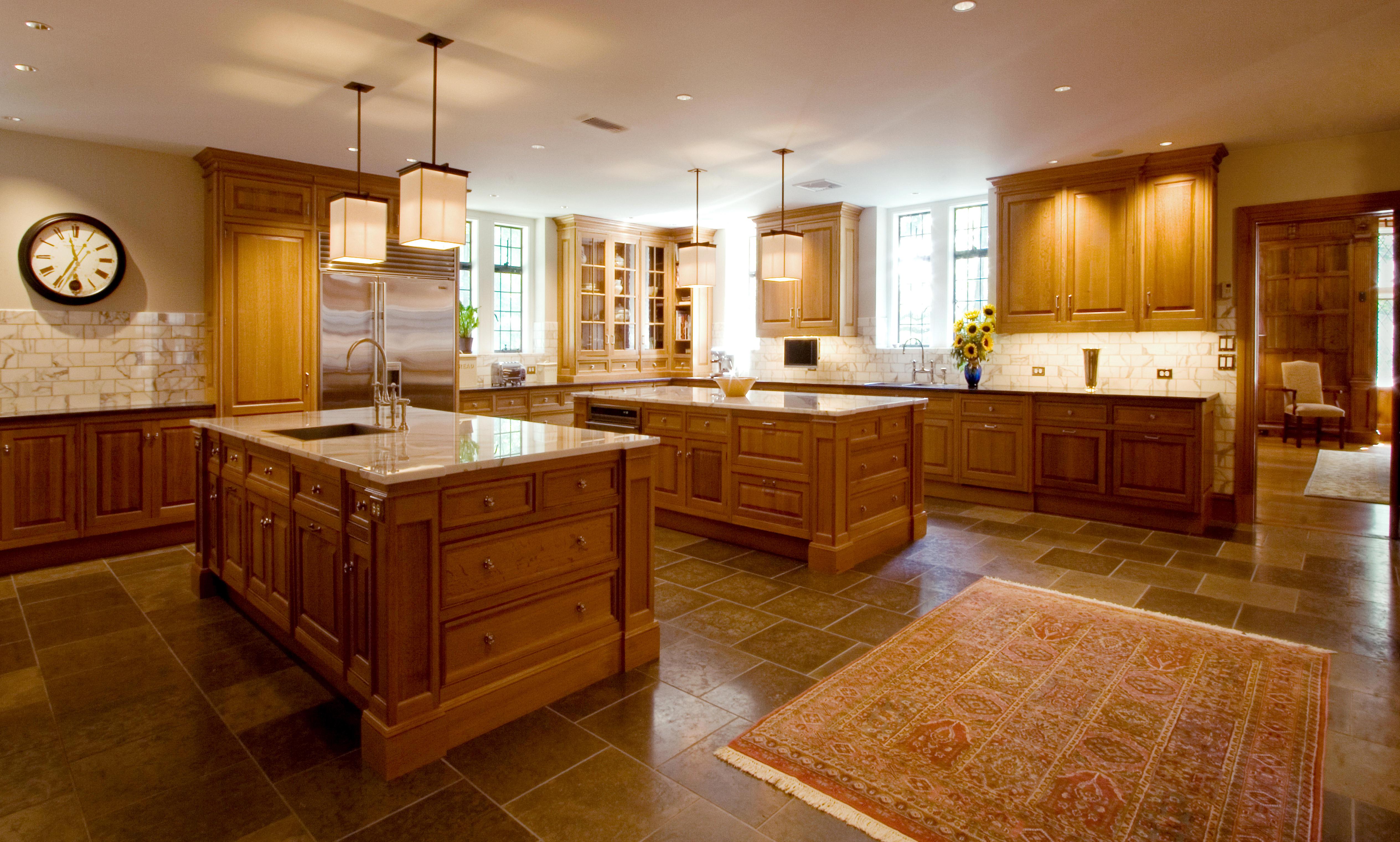 Kitchen island with cabinets Photo - 11