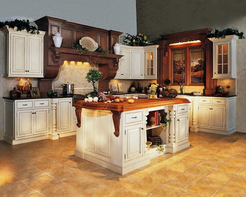 Kitchen island with cabinets Photo - 3