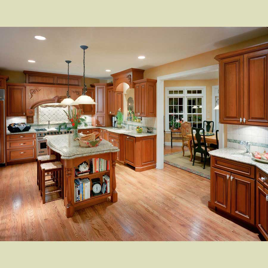 Kitchen island with cabinets Photo - 8