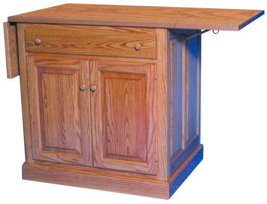 Kitchen Island With Drop Leaf Kitchen Ideas - Kitchen island with folding leaf