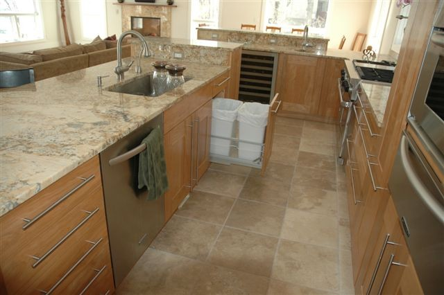 ... Kitchen Island With Garbage Bin Photo   4 ...