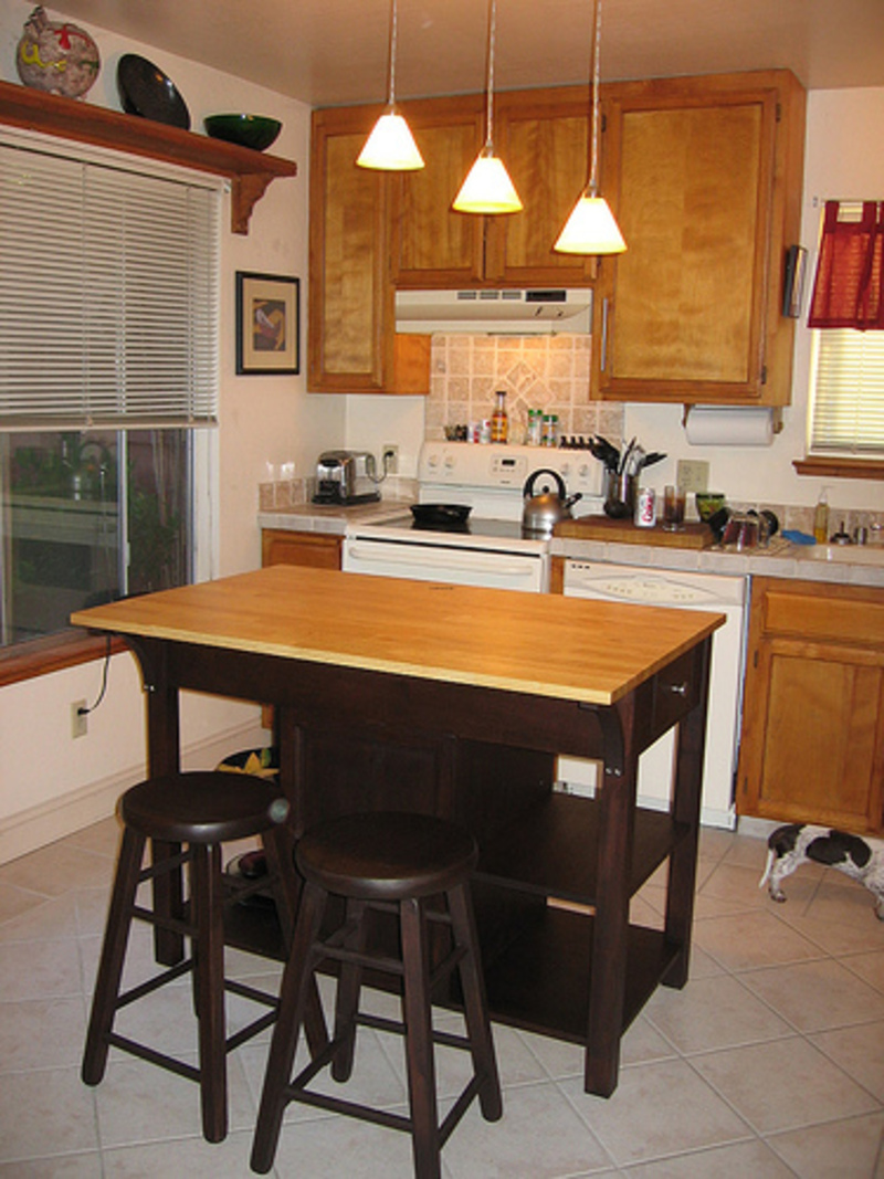 Kitchen island with seating for 2 | | Kitchen ideas