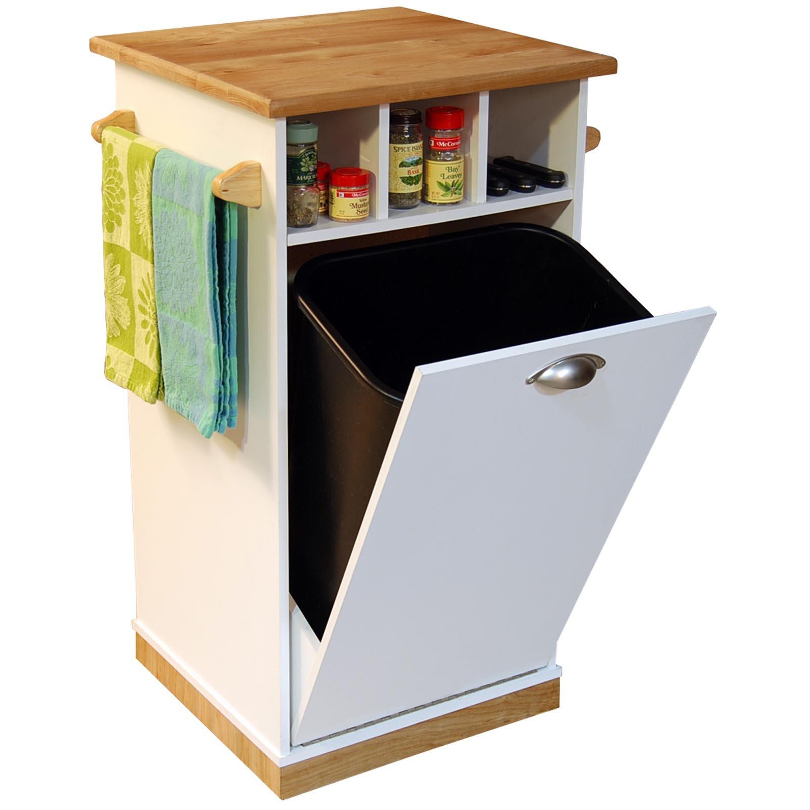 Kitchen island with trash bin – Kitchen ideas