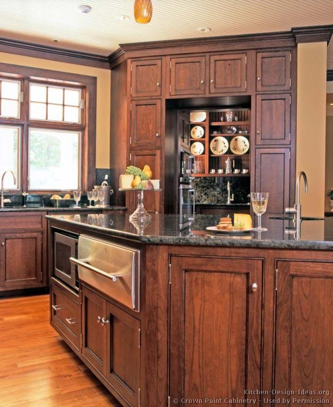 Kitchen microwave cabinet Photo - 10