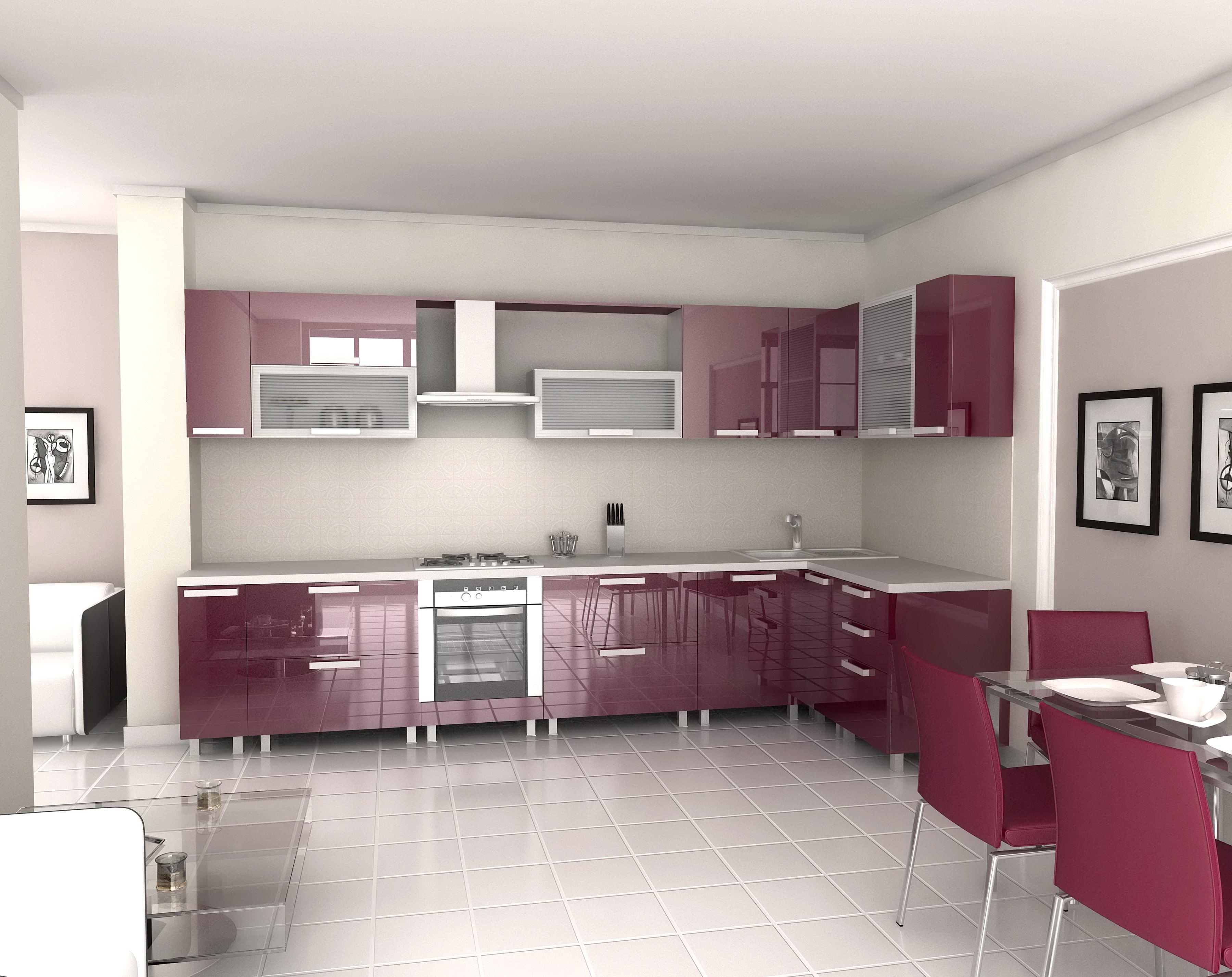 Kitchen microwave cabinet Photo - 5