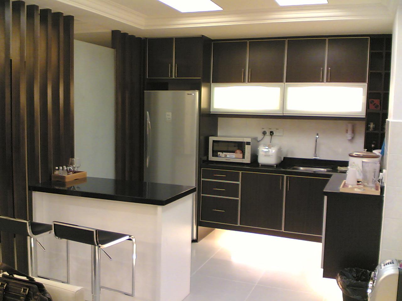 Kitchen microwave cabinet Photo - 6