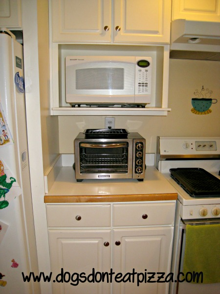 Kitchen Microwave Shelf Kitchen Ideas