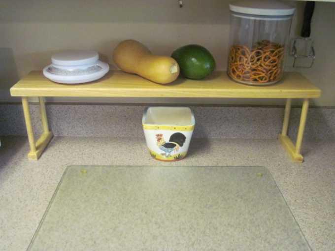 Kitchen Over The Sink Shelf Ideas
