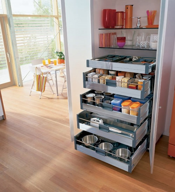 Kitchen pantry cabinet freestanding Photo - 4