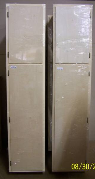 Kitchen pantry cabinet white Photo - 9