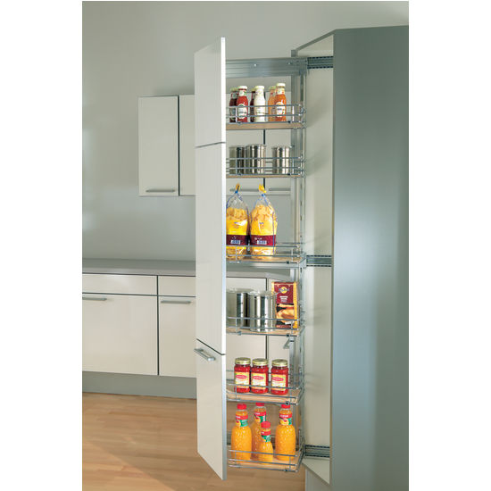 Kitchen Pantry Cabinet With Pull Out Shelves Photo 7