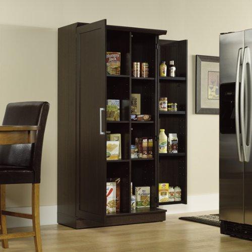 Kitchen pantry cabinets freestanding Photo - 11