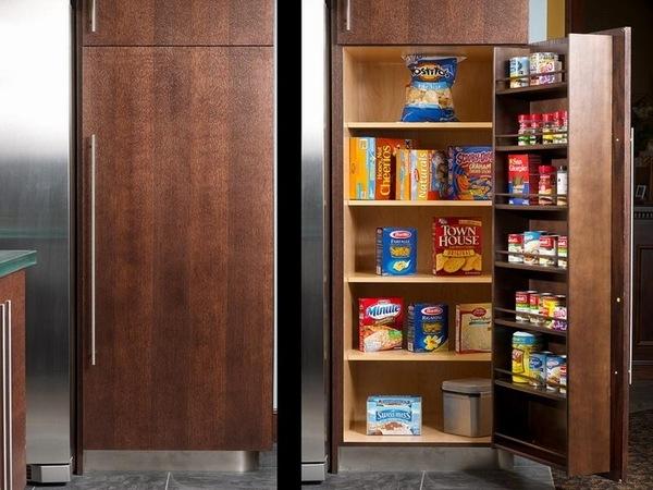 Kitchen pantry cabinets freestanding Photo - 2