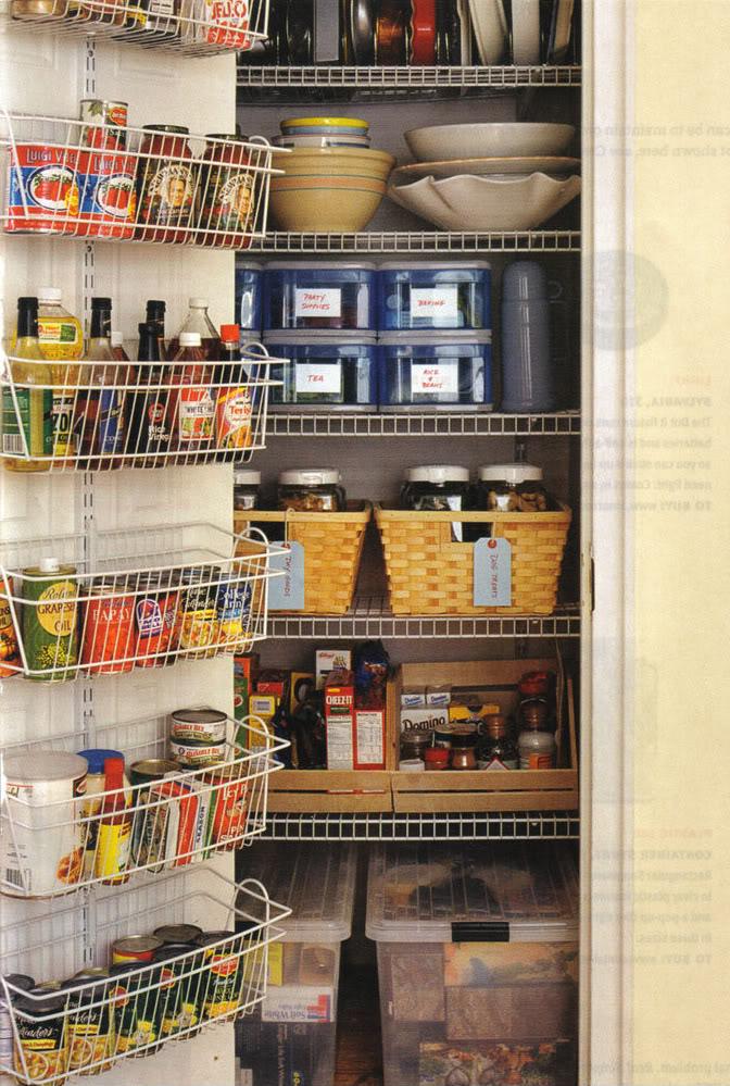 Organizing A Kitchen Pantry Kitchen Ideas
