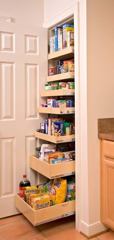 Kitchen pantry storage cabinet Photo - 8