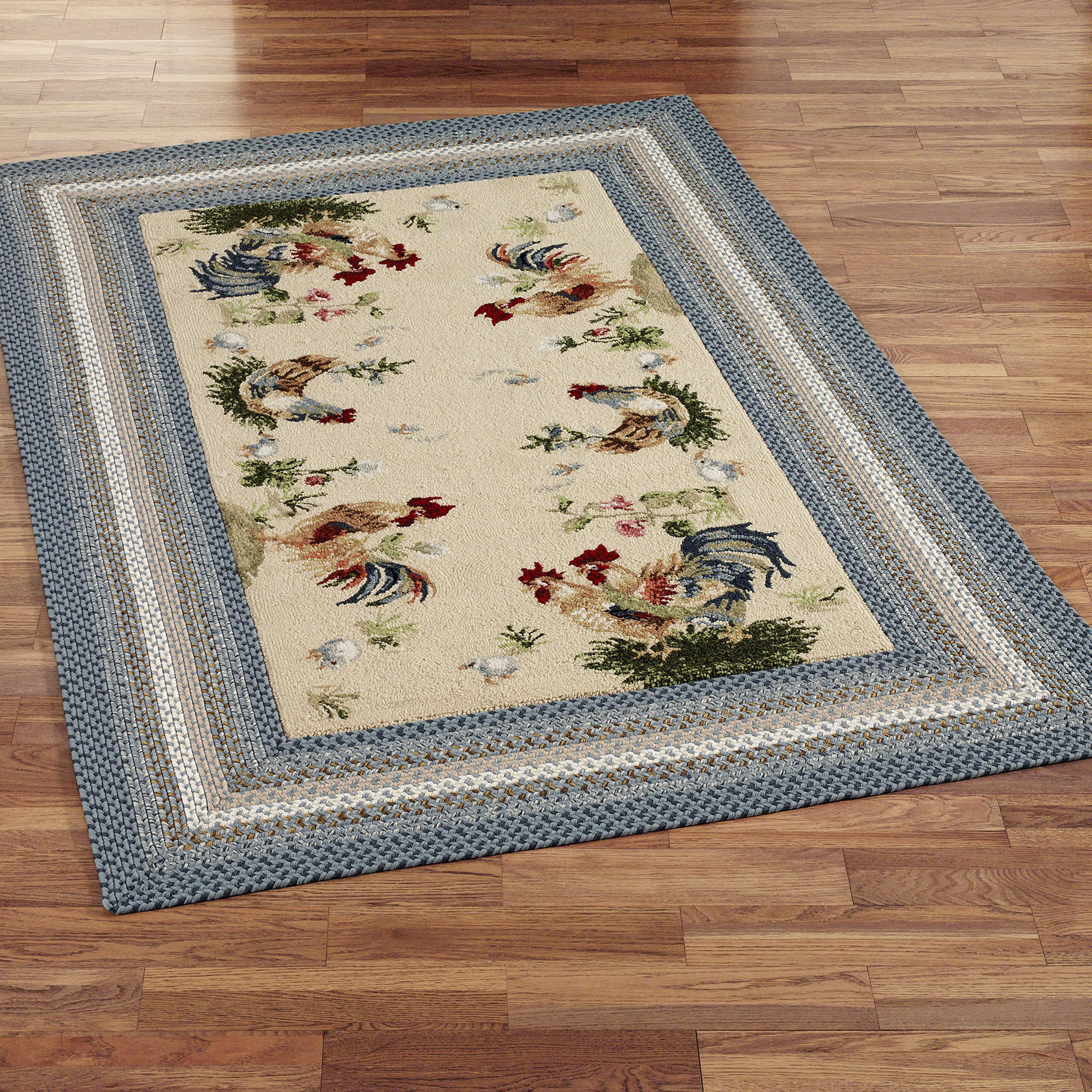 French Country Rooster Rugs Rug Designs