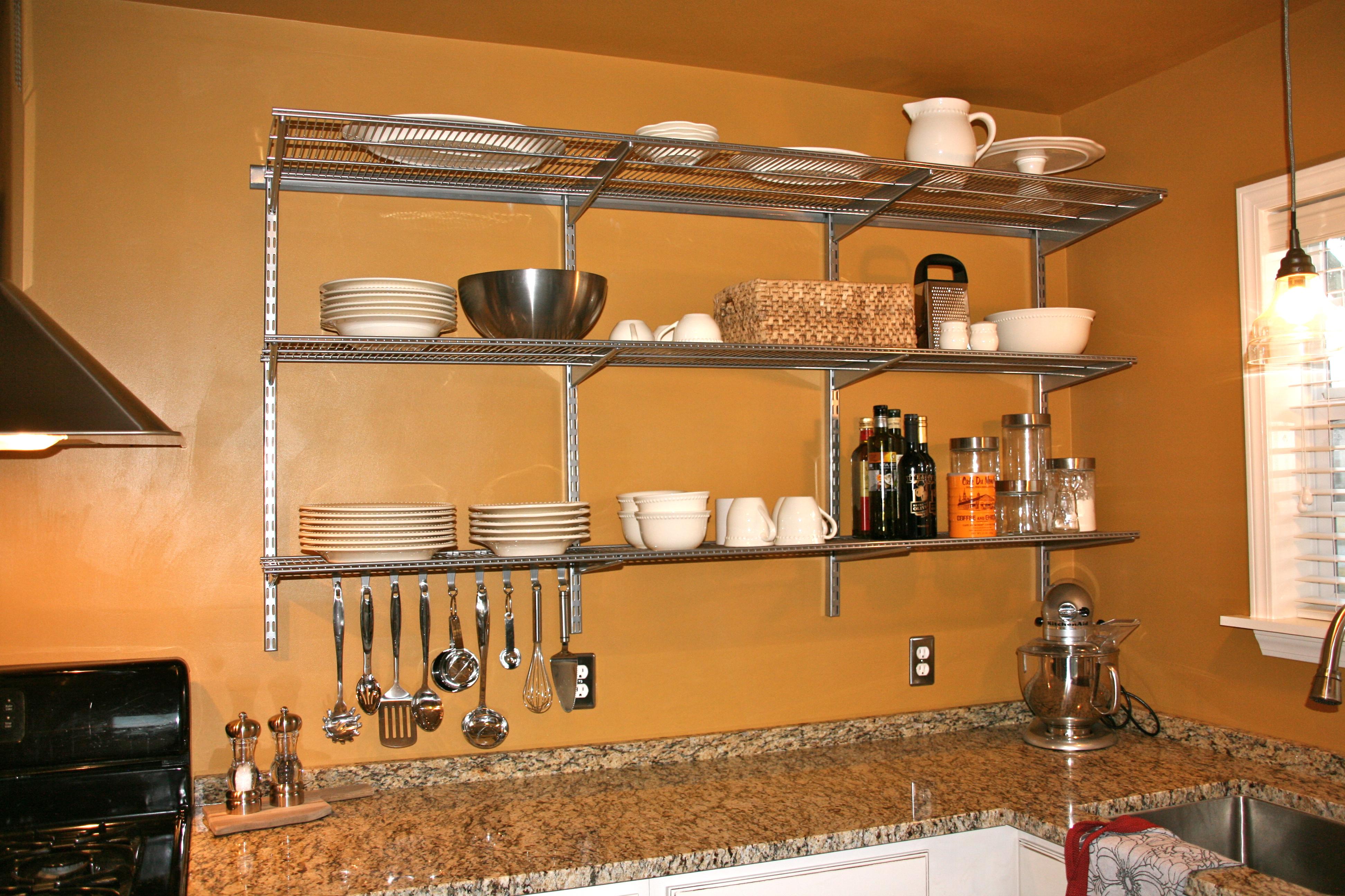 Kitchen shelves wall mounted | | Kitchen ideas