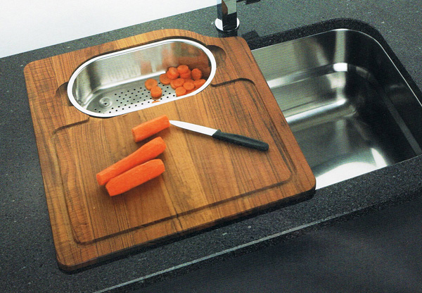 kitchen sink cutting board  kitchen ideas, Kitchen design
