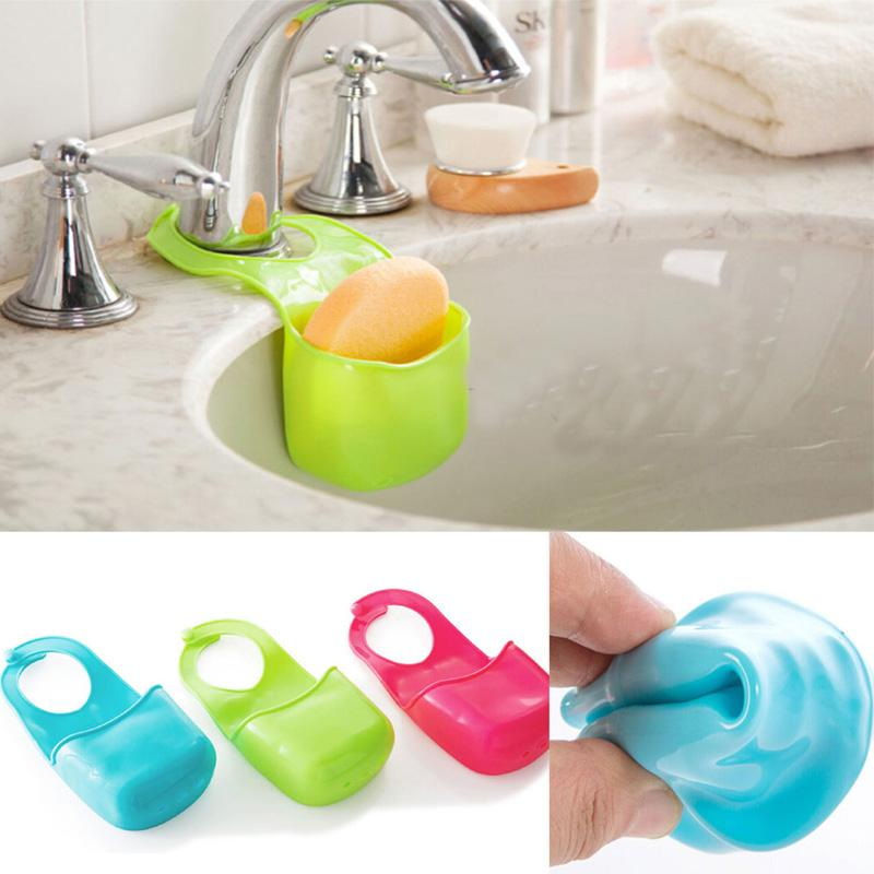 Kitchen sink sponge holder Photo - 11