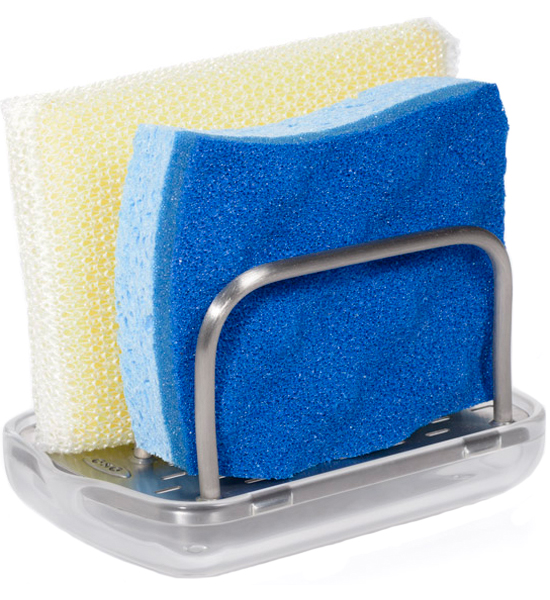 Kitchen sink sponge holder Photo - 7
