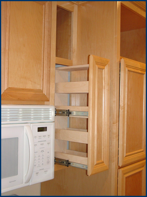 Kitchen spice cabinet Photo - 1