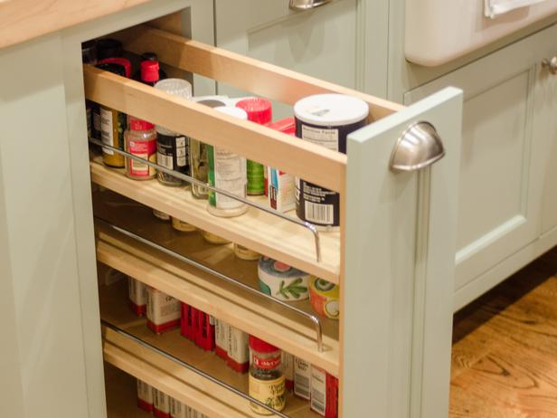 Kitchen spice cabinet Photo - 3