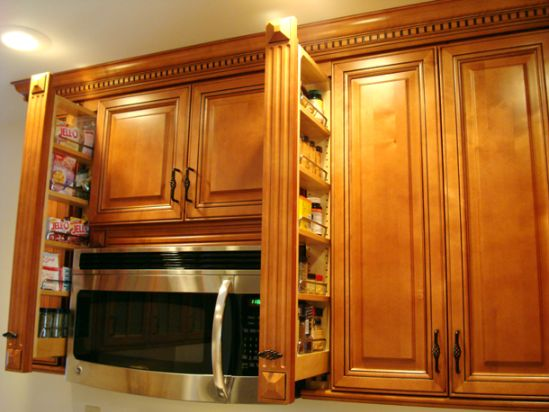 Kitchen spice cabinet Photo - 7
