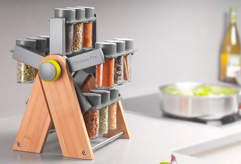 Kitchen spice storage Photo - 11