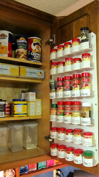 Kitchen spice storage Photo - 12
