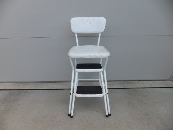 Kitchen step stool chair Photo - 9