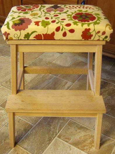 Kitchen step stool seat Photo - 10
