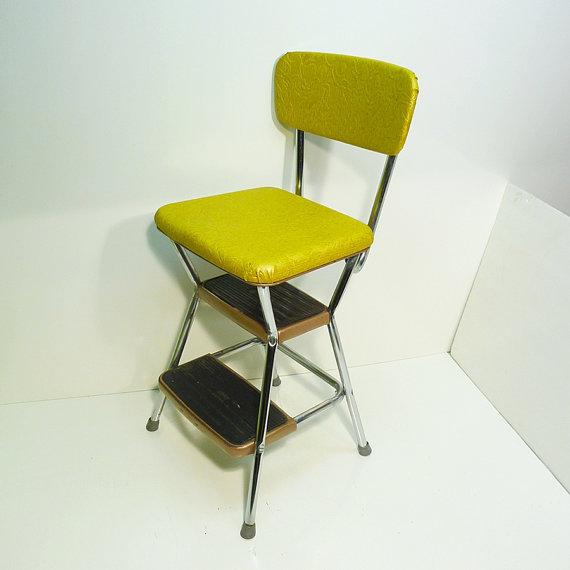 Kitchen step stool seat Photo - 11