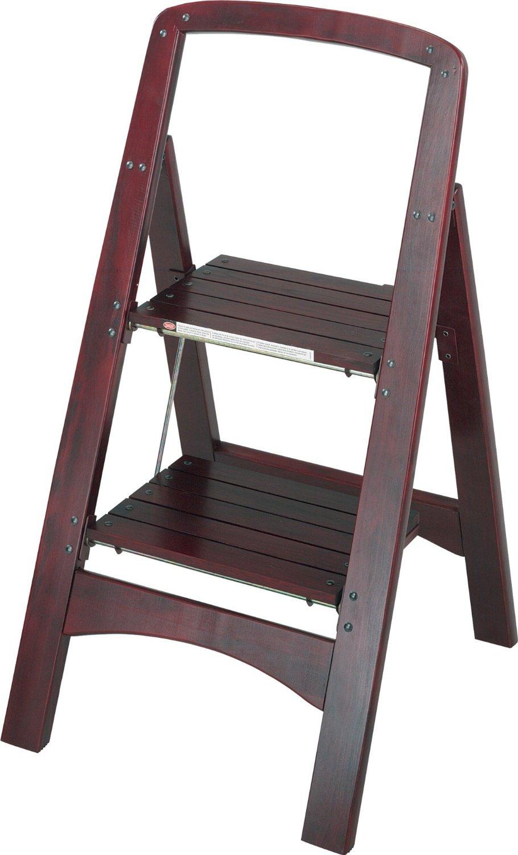 Kitchen step stool seat Photo - 2