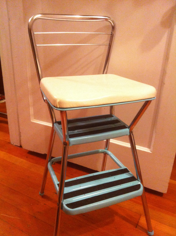 Kitchen Step Stool With Seat Kitchen Ideas