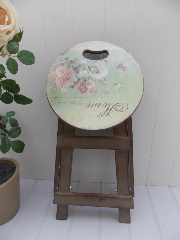 Kitchen step stool with seat Photo - 4